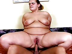 BBW Getting Her Constricted Fat Waste Drilled Hardcore