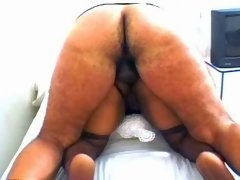 Massive ebony hungry for fresh cum