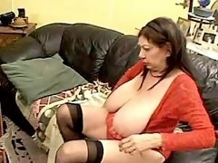 Horny chubby woman itching for sex