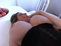 Lustful plump cutie gets slammed